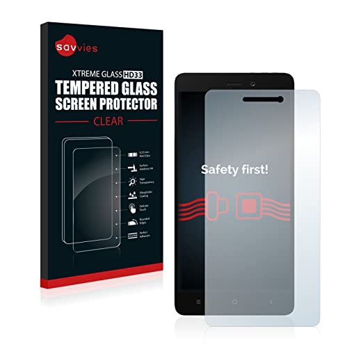 8 opinioni per Savvies Vetro per Xiaomi Redmi 3 Pellicola Vetro Temperato, Vetro Protettivo-