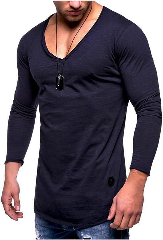 t-shirt homme manche longue