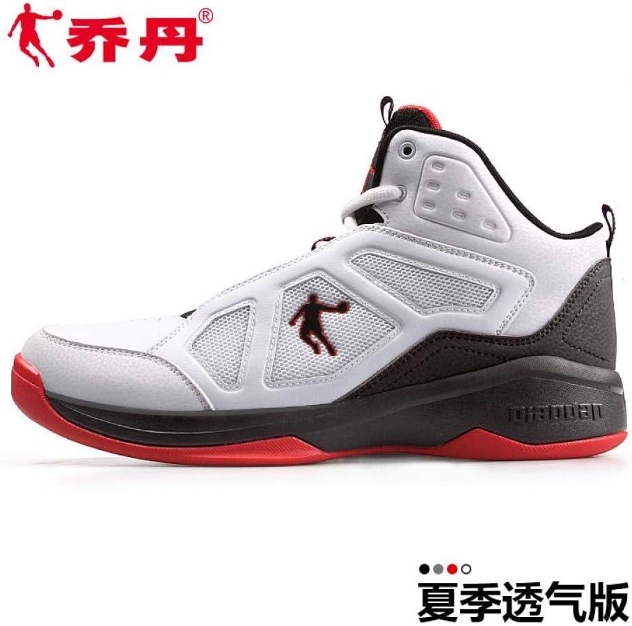 Zapatos de Baloncesto Jordan Venom 5 para Hombre, Zapatillas de caña Alta, Malla Transpirable, Absorbe los Golpes, Botas de Escuela Media, 42.5 cm, Color Blanco (versión Verano Transpirable): Amazon.es: Electrónica