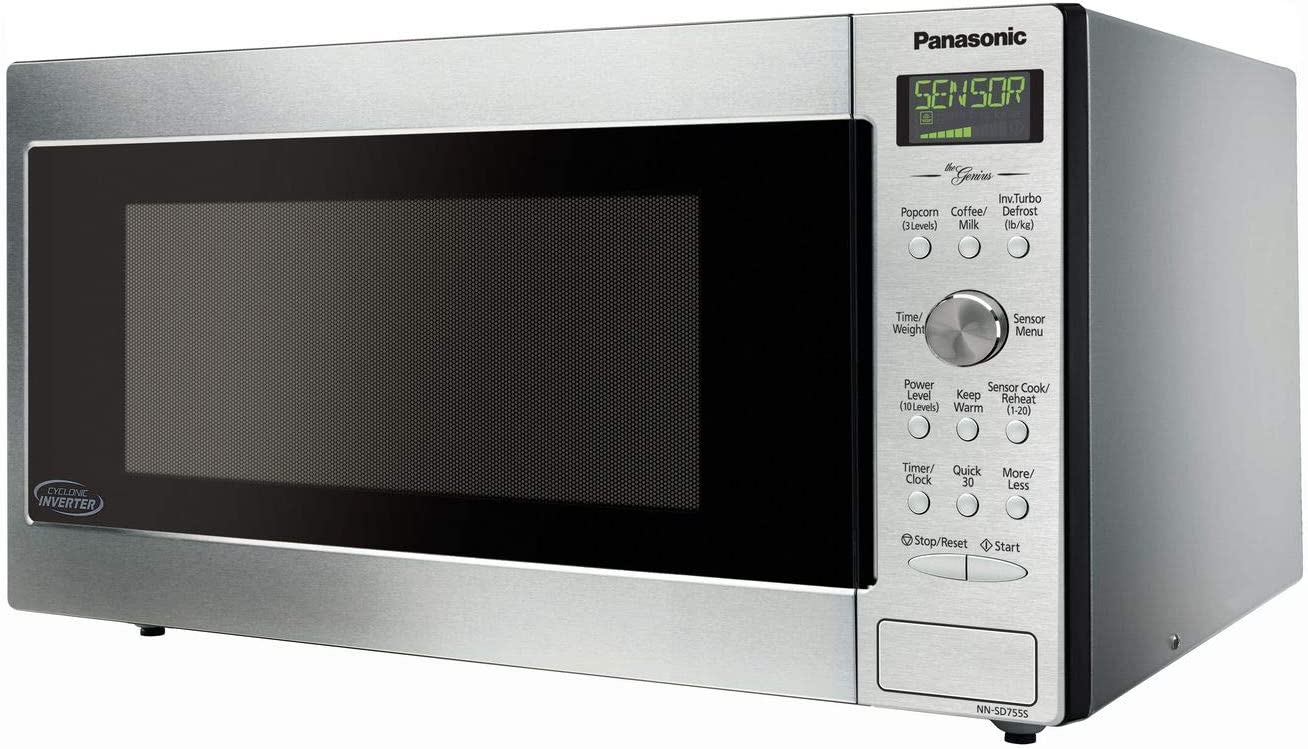 Panasonic NN-SD945S encimera/microondas integrado con tecnología ...