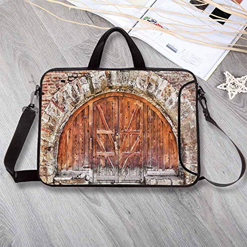 Rustic Decor Waterproof Neoprene Laptop Bag,Vintage for sale  Delivered anywhere in Canada