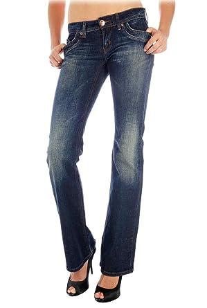 ONLY Jeans Hose Auto Low Bc Chiara Stretch - RO700, blau, W25 L30 ... a509440770