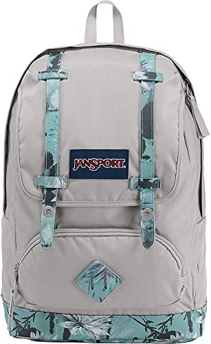 JanSport Cortlandt 15-inch Laptop Backpack - Rugged Vegan Leather Bag