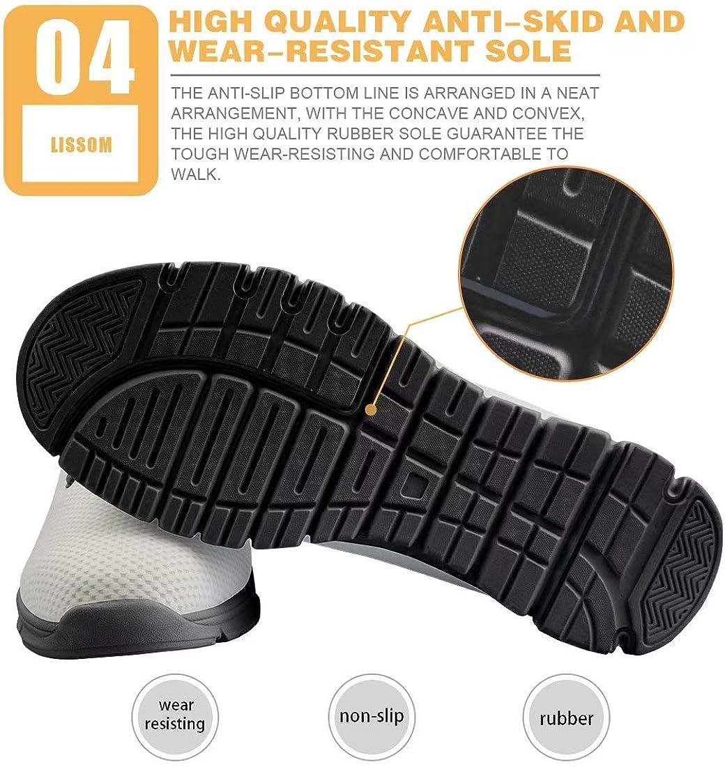 chaqlin Chaussures de Course Mesh Paniers pour Hommes Fitness Gym Sport Marche Chaussures de Voyage Respirantes Baskets Galaxy Designer Bear Nurse Print 4