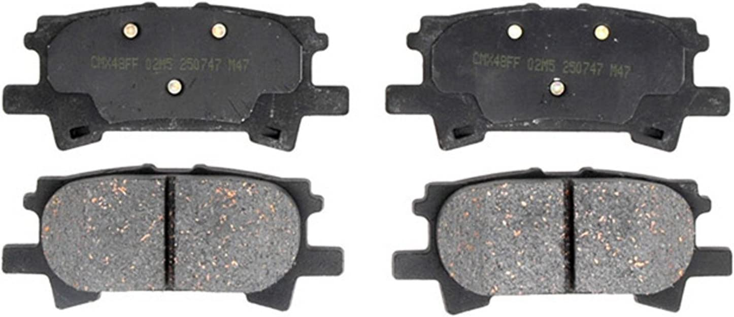 ACDelco 17D996C Professional Durastop Ceramic Rear Disc Brake Pad Set