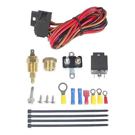 Amazon.com: LITROK - Kit de relé de 60 Amp con sensor de ...