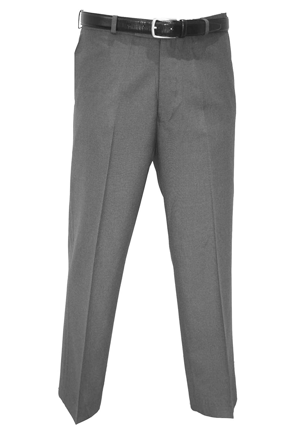 FREE POSTAGE. MENS CHARCOAL GREY TROUSER BY DURABLEPRESS. WAIST 30 TO 62. LEG LENGTHS 29,31 & 33 INCH.