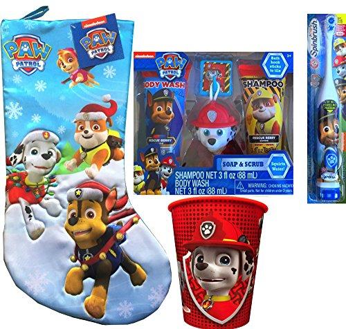 Paw Patrol Children's Stocking Stuffer Hygiene Gift Set