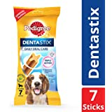 Pedigree Dentastix, Oral Care Dog Treat for Adult Medium Breed (10-25kg) Dogs, 180 g Weekly (7 Sticks)