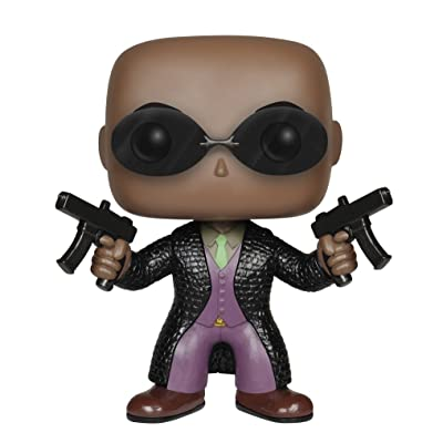 Funko POP Movies: The Matrix - Morpheus Action Figure: Funko Pop! Movies:: Toys & Games
