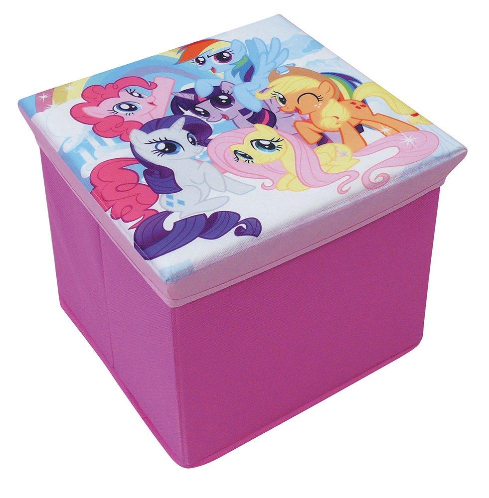 Fun House 712527/My Little Pony Taburete de cart/ón para almacenaje para ni/ños mural//30/x 30/x 30/cm