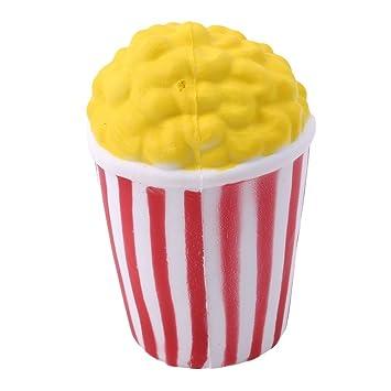 Palomitas de maíz Squishy Toys Stress Reliever para Niños y Adultos Slow Rising Cream Soft Toys