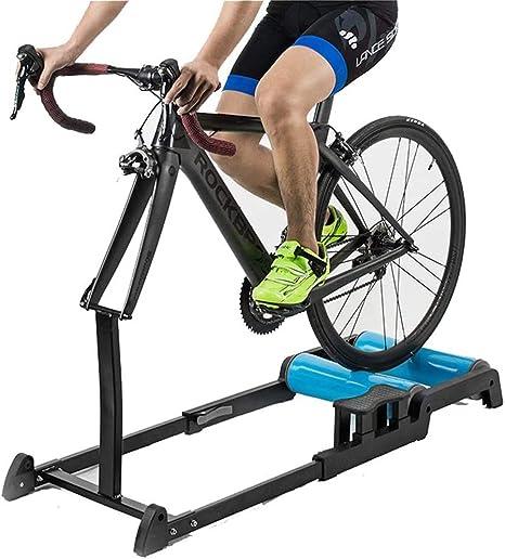 YUXINCAI Entrenador De Interior Rodillo De Entrenamiento Plegable Ajustable para Bicicleta De Montaña Bicicleta De Carretera Fitness Entrenamiento En Interiores: Amazon.es: Deportes y aire libre
