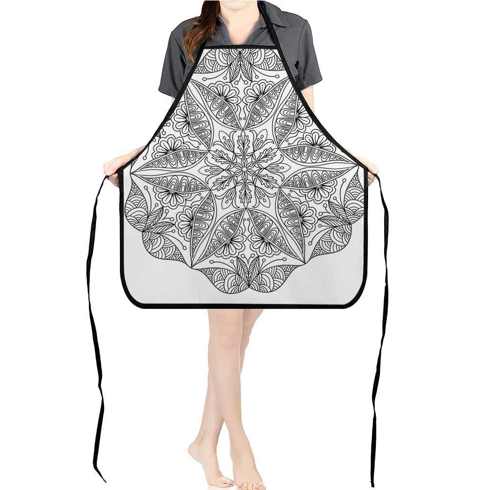 Jiahong パンプレミアムデザインキッチンビブイメージ アンティークアメリカ1600年代中世時代古代レトロHOM耐油汚れ防止洗濯可能ドライファーストホームエプロン K26.6