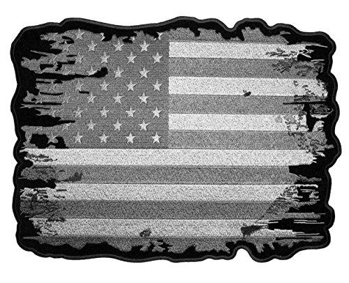 Leather Supreme Patriotic Distressed American