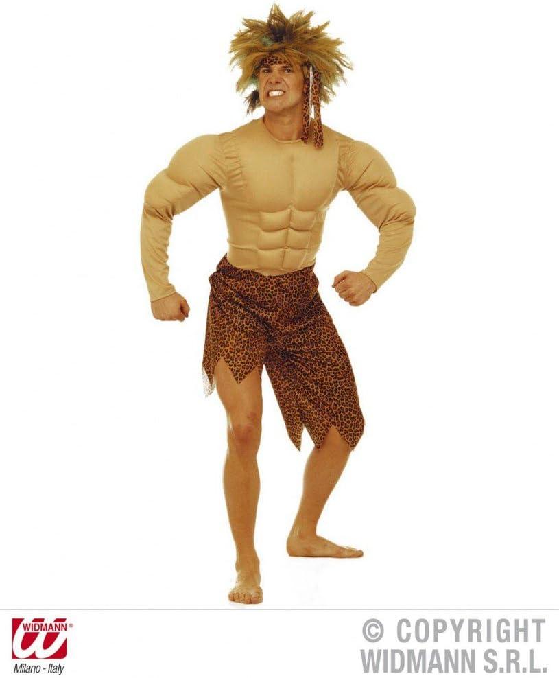 WIDMANN S.R.L. Mens Tarzan Costume Mens Jungle Man with Muscles ...