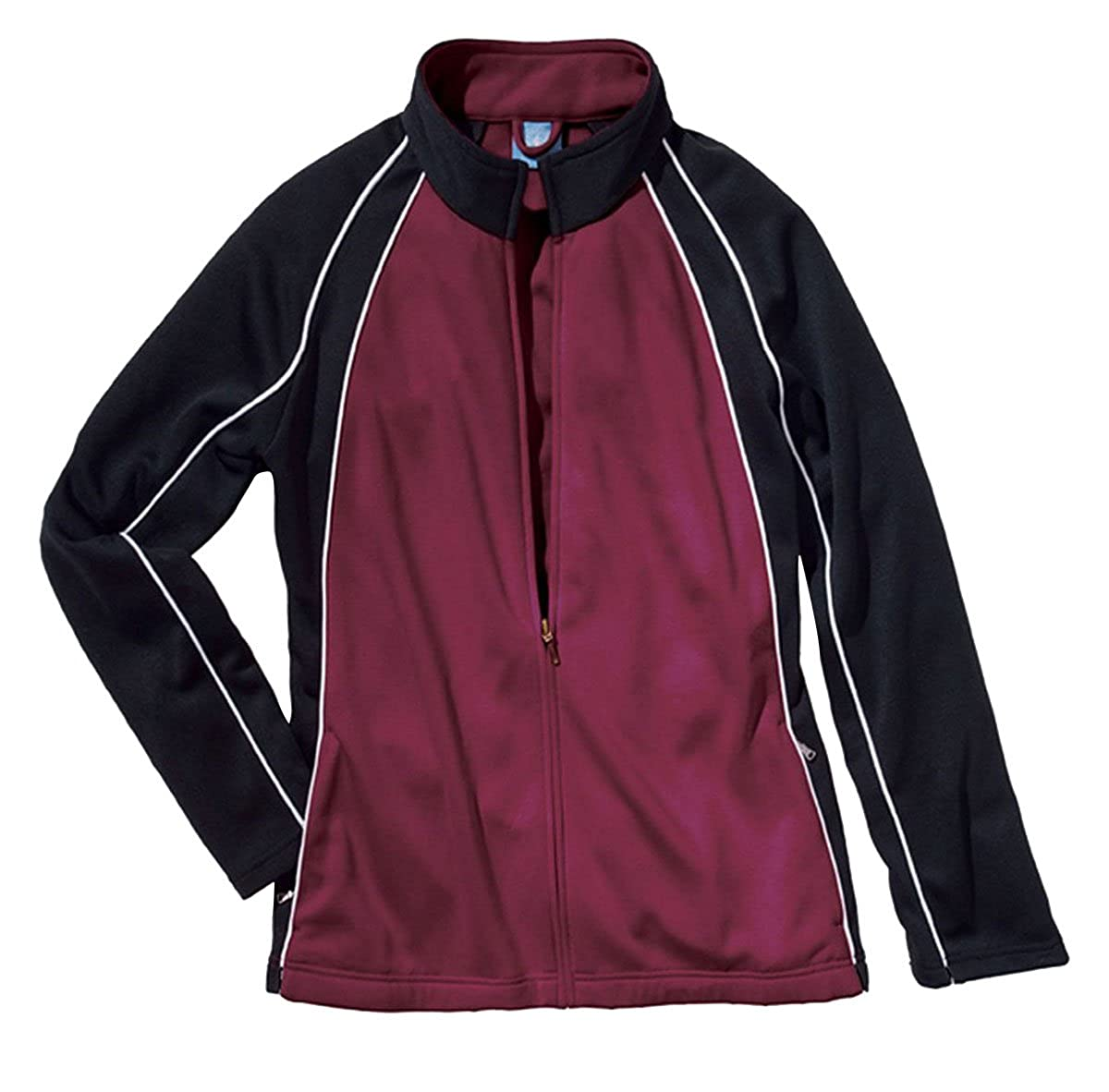 Charles River Apparel Girls Warm Up Olympian Jacket