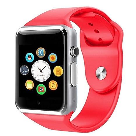 Amazon.com: A1 Smart Watch Phone Bluetooth Smartwatch with ...