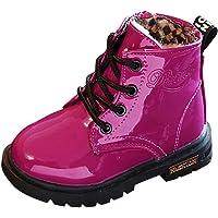 YanHoo Zapatos para niñas pequeñas Botas Niños Moda