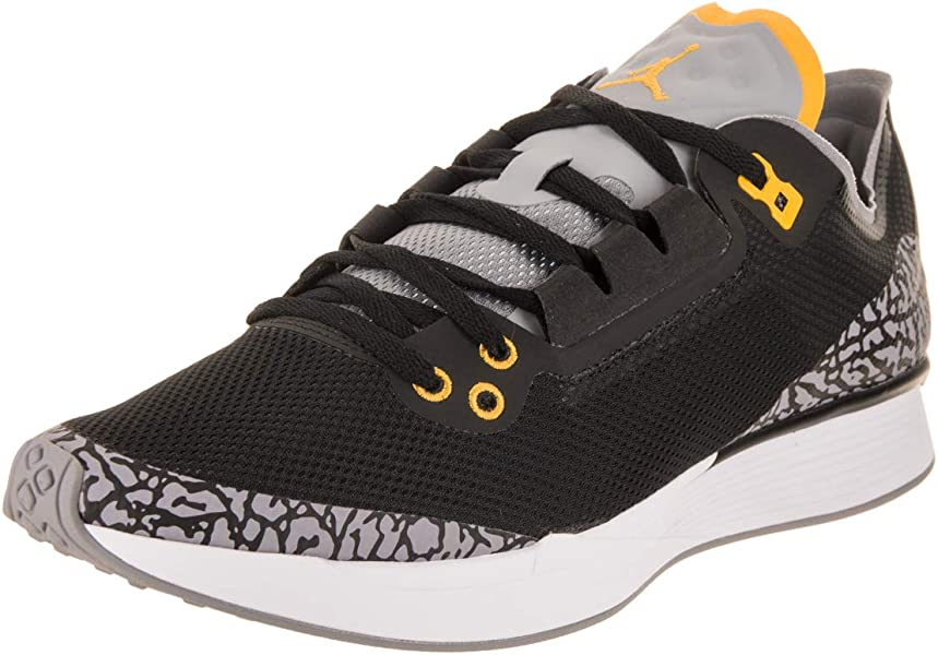 free shipping 965f4 f4598 Jordan Nike Men s 88 Racer Black Varsity Maize Training Shoe 12 Men US