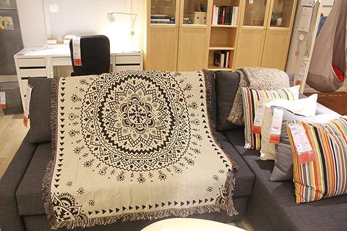 W&lx Toalla de Viento Nacional Tela tapicería sofá Manta ...