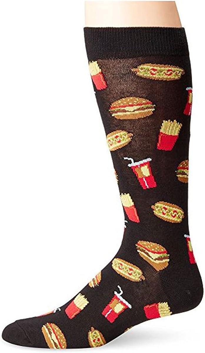 K. Bell Men's Novelty Crew Socks