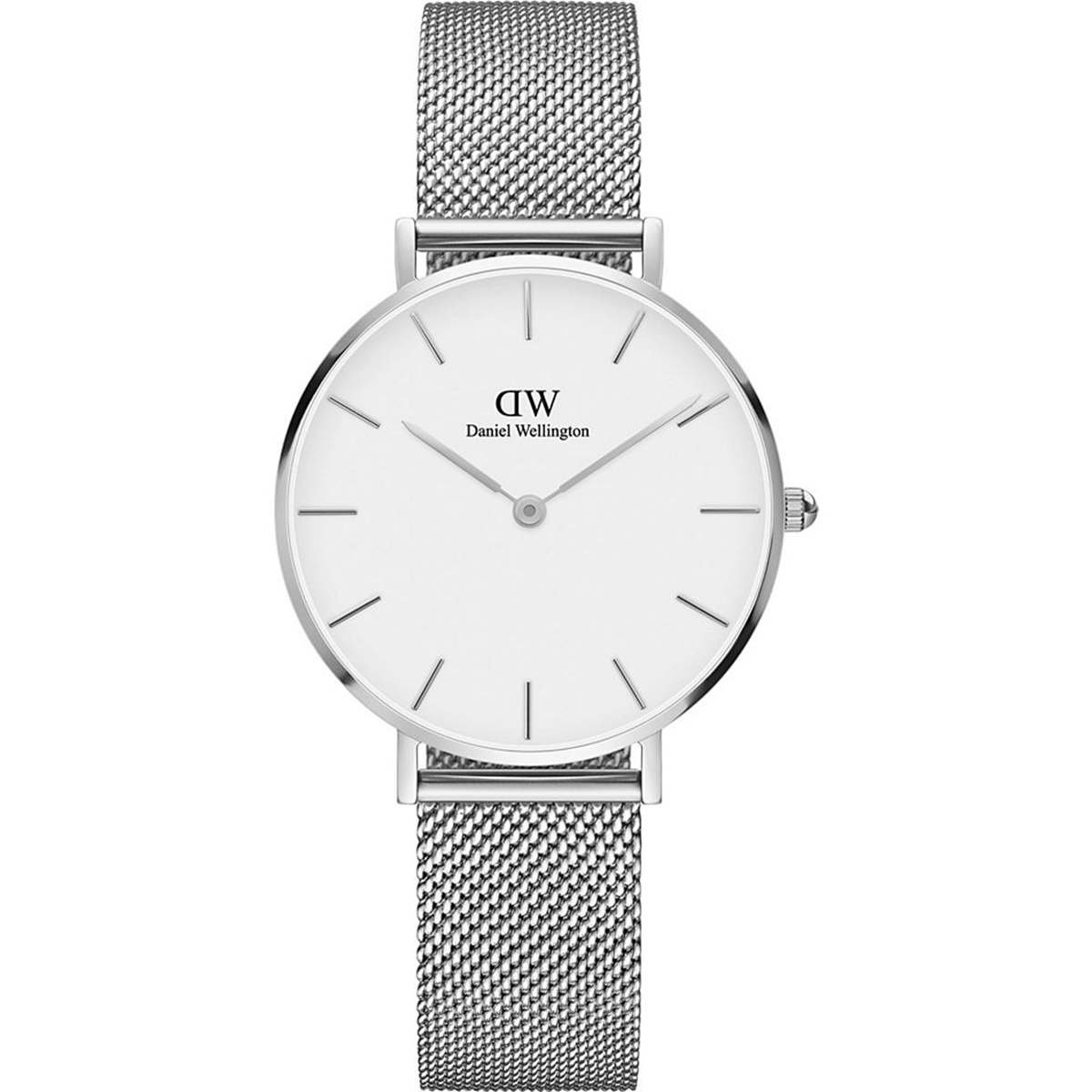 Daniel Wellington Classic Petite Sterling in White 32mm