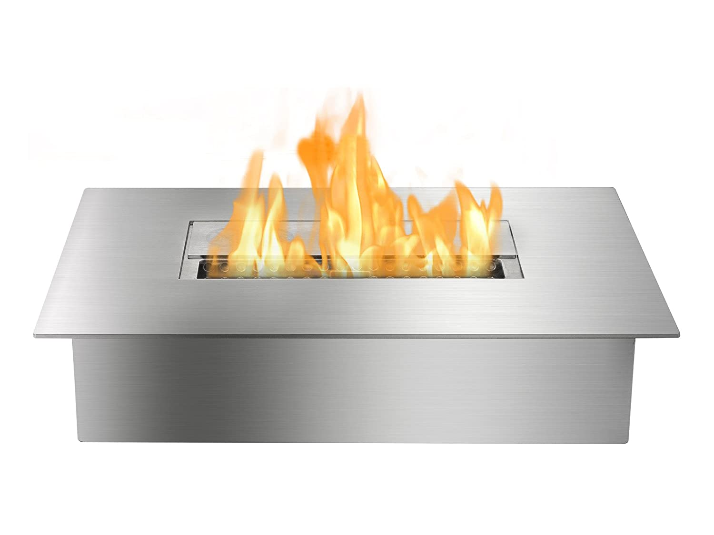 amazon com ignis ebg1400 ethanol fireplace grate insert with