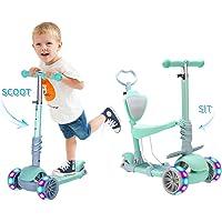 Baobë 5 en 1 niños Kick Scooter, Scooter