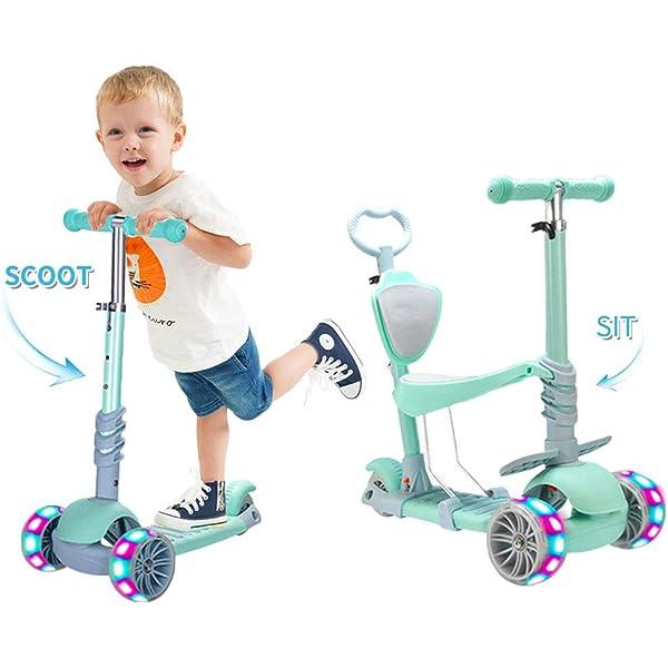 Yorbay Patinete Scooter Freestyle 3 en 1 Walker Trole ...