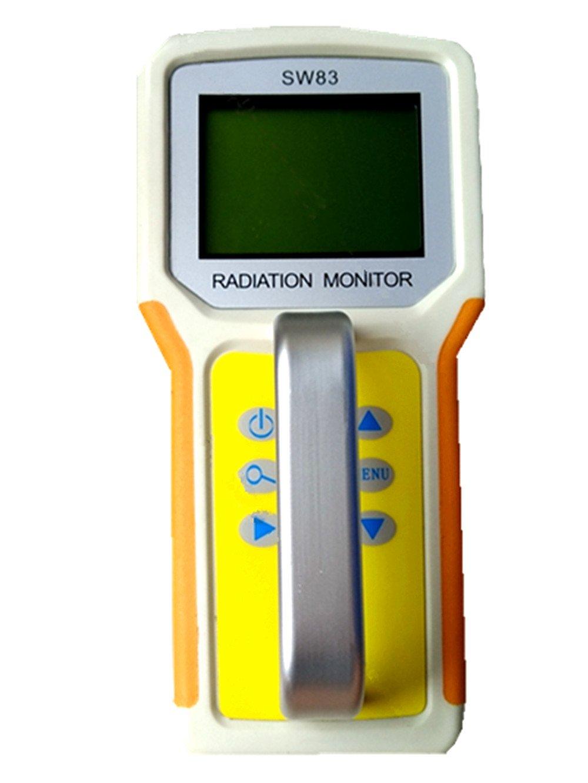 SW83 superficie contaminación detector/Nuclear radiación detector/Ray detector/radiación monitor: Amazon.es: Hogar