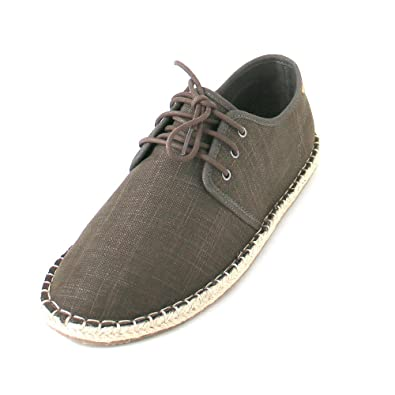 TOMS Men'S Diego Linen Espadrilles Brown in Size 41 8c1OHlyU