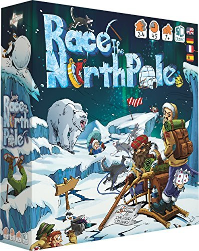 Playmore Games play8002 Board Game – Race to The North Pole [並行輸入品] B07SB2TRFX