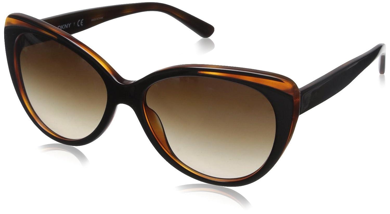 DKNY 0Dy4125 Gafas de sol, Top Black On Havana, 57 para ...