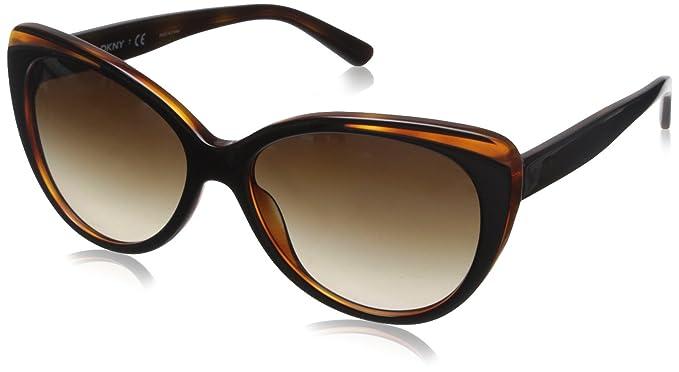 737e13061d61 Amazon.com: DKNY Women's 0dy4125 Cateye, Top Black/Havana, 57 mm ...