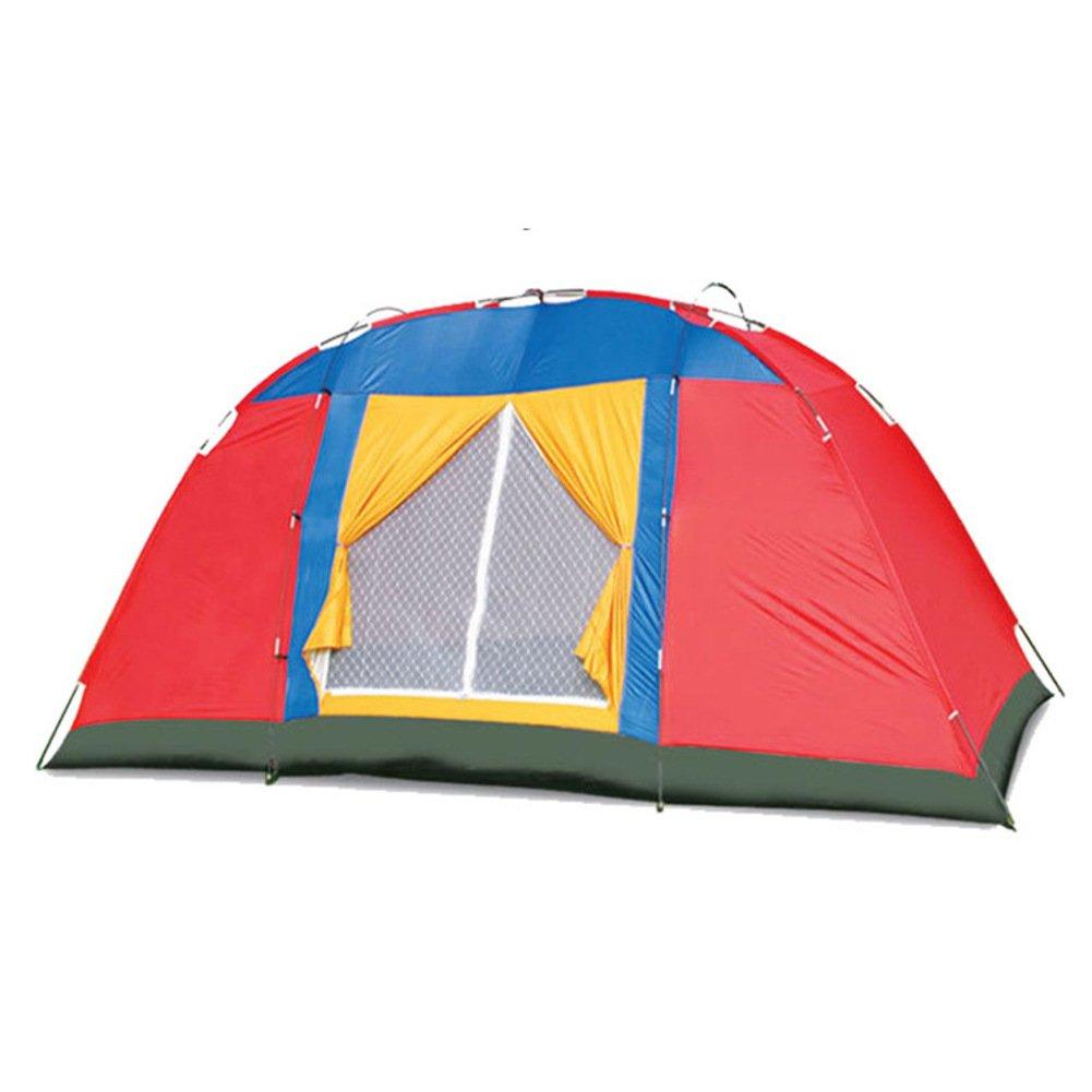 Strandzelt,8er Outdoor-einlagige Feld Großes Zelt Camping Wasserdicht Reise Portable Faltung Mit Tragebag Familienzelt