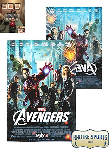 Stan Lee Autographed/Signed 2-Sided Marvel Avengers Motion Picture 24x36 Original Movie Poster