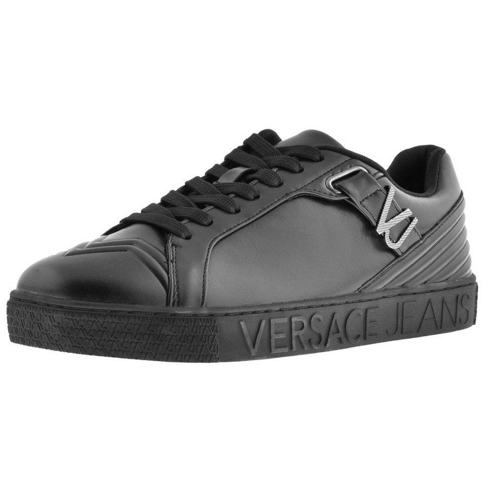 205d67558d7b3 Mens Versace Jeans Logo Trainers Black - 7 (41): Amazon.co.uk: Shoes ...