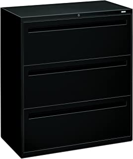 product image for HON 783LP 700 Series 36 by 19-1/4-Inch 3-Drawer Lateral File, Black