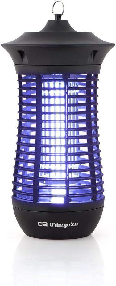 Orbegozo MQ 4018 – Mata mosquitos eléctrico para uso interior y exterior con área de acción de 100 m2, 18 W de potencia y diseño vertical