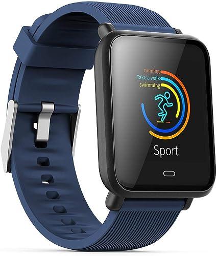 Monitor de frecuencia cardíaca TEEPAO, reloj inteligente a prueba ...