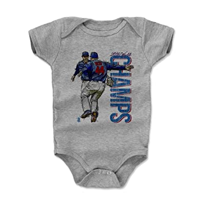 500 LEVEL Anthony Rizzo Baby Onesie - Chicago Baseball Baby Clothes - Anthony Rizzo Kris Bryant Champs B