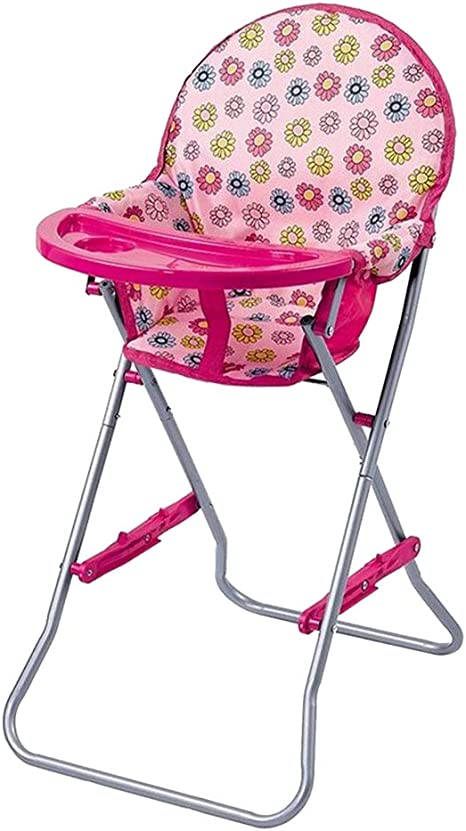 Abs Plastic High Chair For Dolls Baby Doll Highchairs Toy