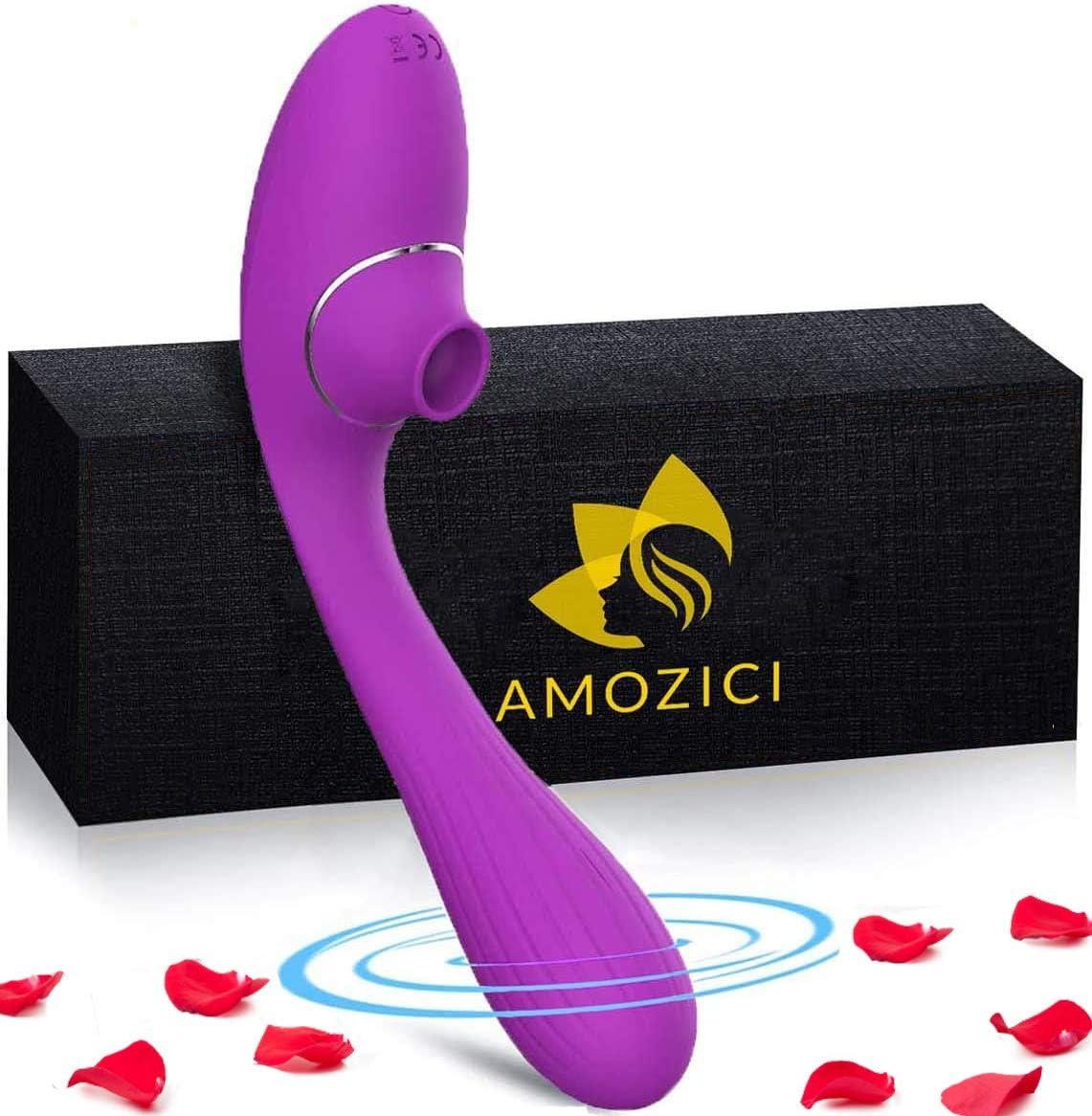 Helin Succionador de clitoris con vibración punto G 10 MODOS