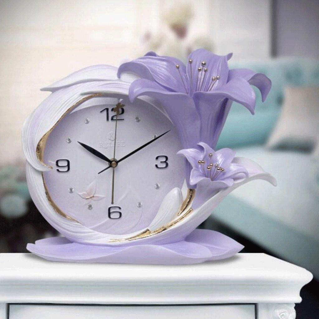 TXXM® エンボス超静かな壁時計リビングルームキュービッククォーツペンダント近代的なミニマリストクリエイティブな装飾時計 (色 : D) B07F5X6PXP D D
