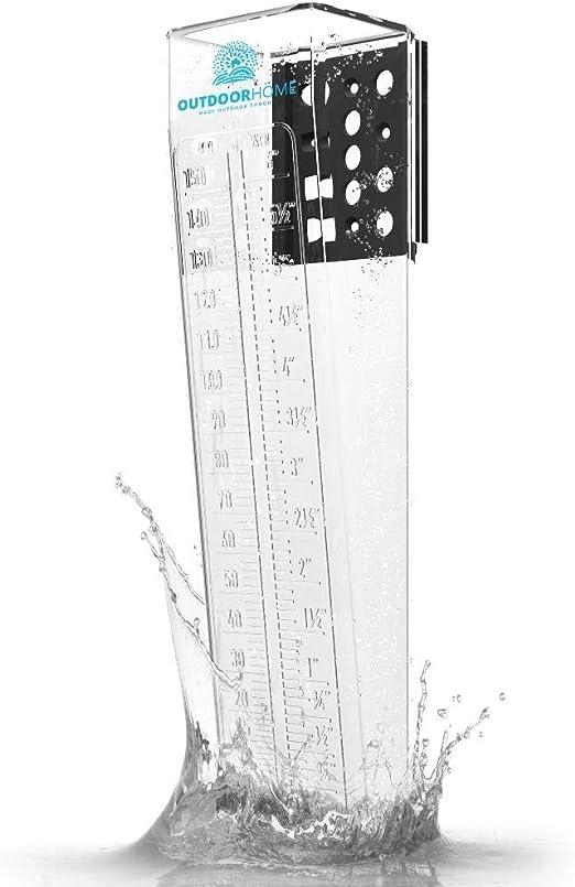 Garden Rain Gague Meter garden ornament