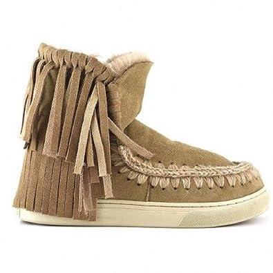 Mou Mini Eskimo et Kid Con Frange: : Chaussures et Eskimo Sacs 2658d4