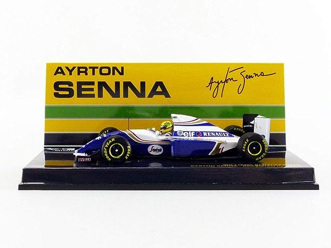 Formel 1 Williams Renault FW16 Ayrton Senna GP Brazil 94-1:43 MODELLAUTO F1 715