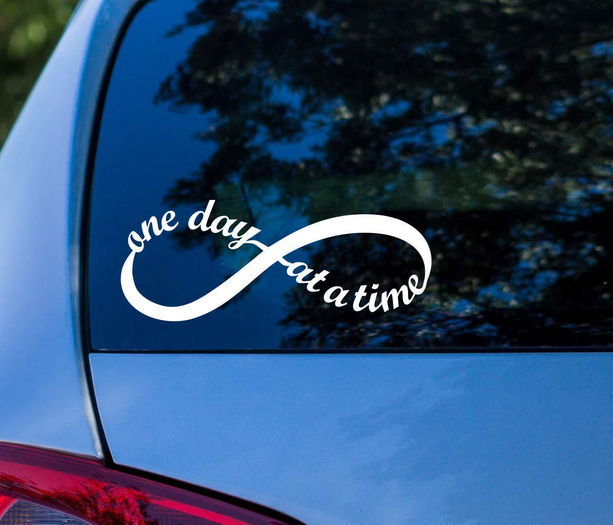One Day at a Time Sticker Infinity Symbol