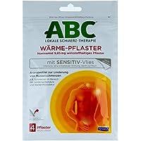 HANSAPLAST med ABC Calor Parche sensible, 4 St